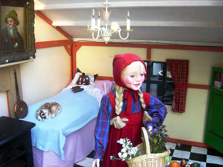 Sprookjeshuisje van Hans en Grietje